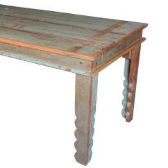 Distressed Kitchen Table Home Depot Cabinet Doors Appalachian Rustic Reclaimed Wood Pastel