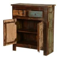 Appalachian Summer Reclaimed Wood Free Standing Cabinet w ...
