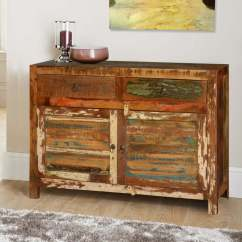 Jeromes Sofas Stadium Seating Sofa Jerome Rustic Reclaimed Wood 2 Drawer Buffet Cabinet