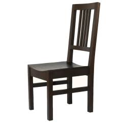 Dark Wood Dining Chairs For A Bedroom Desk Boston Charcoal Solid Chair Set Of 2
