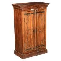 Pennsylvania German Reclaimed Wood Tall Double Door ...