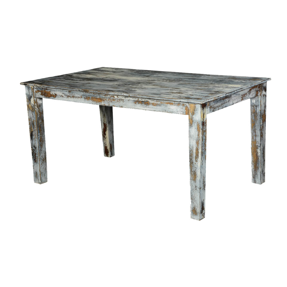 distressed kitchen table target cabinet grey speckled wood dining how to