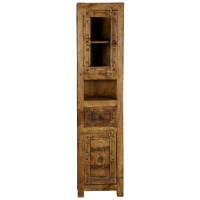 Passage from India Reclaimed Wood Hand Carved Skinny ...