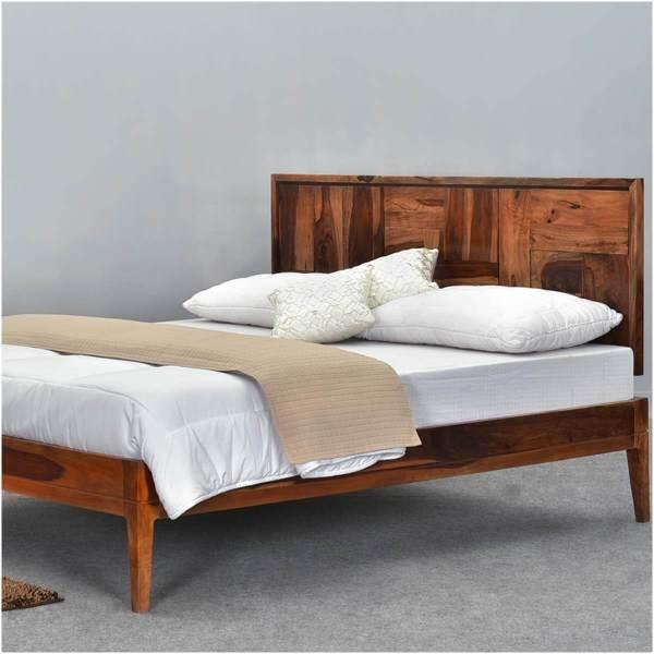 Solid Wood Platform Bed Frames