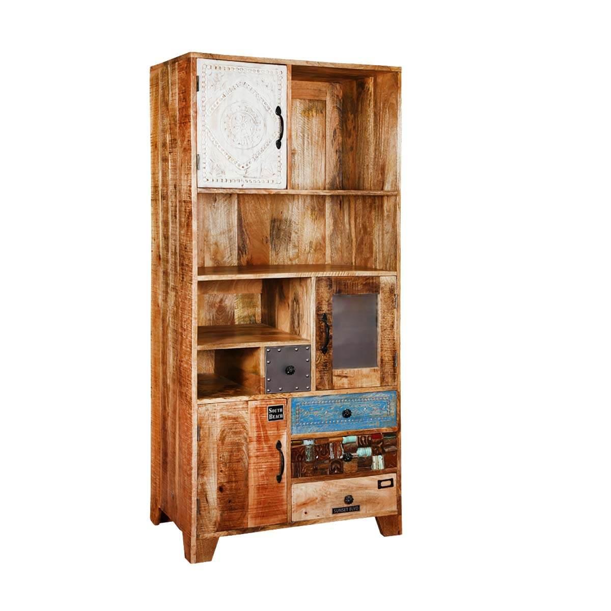 Arkansas Distinctive Iron and Mango Wood Rustic Storage