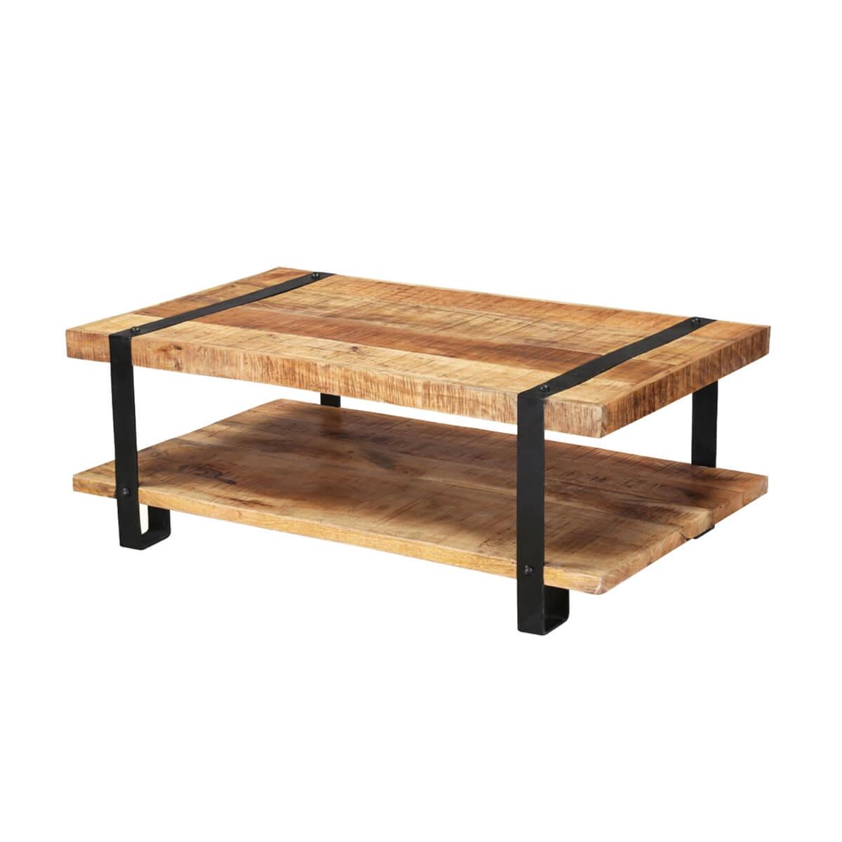 "Industrial 43"" Mango Wood 2"