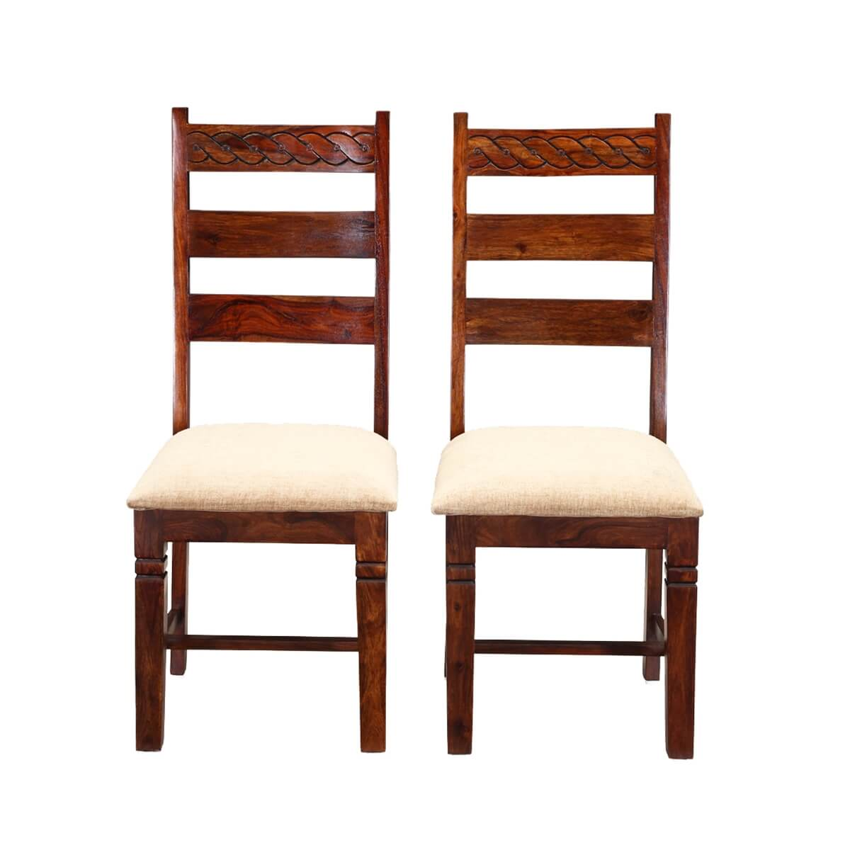 unfinished ladder back chairs cape cod chair company handcrafted solid wood 2pc upholstered