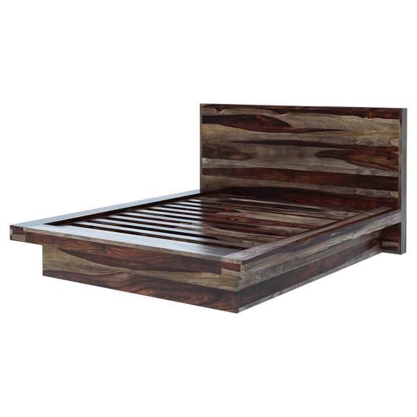 Modern Solid Wood Platform Bed