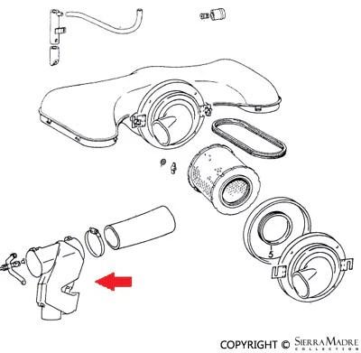 Porsche Parts Carburetor Kit, Zenith 40TIN