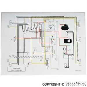 Porsche Parts Full Color Wiring Diagrams (5068)