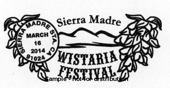 Special Wistaria Postmark Tradition to Continue At This