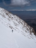 Nothing beats ski touring above North America's deepest valley.