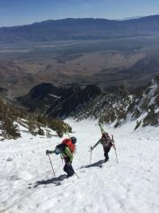 Independence Couloir still goes to the desert in May