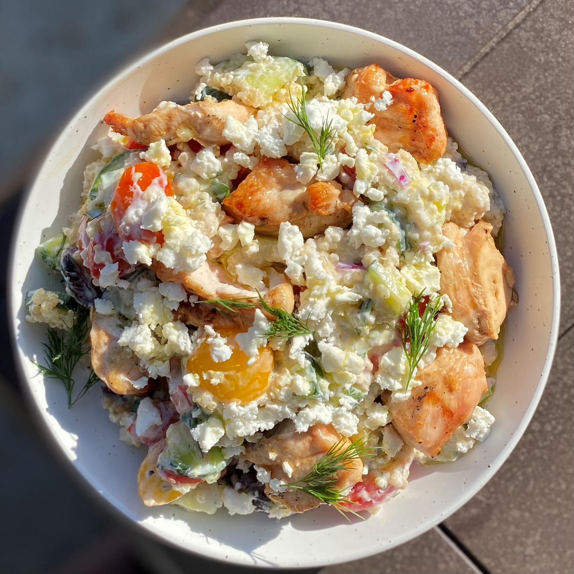 chicken tzatziki tossed 2