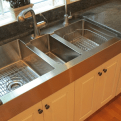 Kitchen Sinks With Drainboard Built In Outdoor Sets Sink Sierra Remodeling Replaces Too