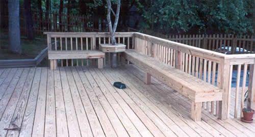 Deck Planter Plans