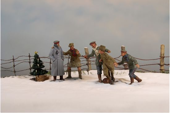 World War One Christmas Truce 1914 By Britains Sierra
