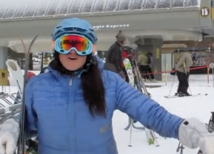 Whitney Lennon tells it like she sees it for Mammoth Lakes Tourism.