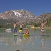 File photo: Fun on June Lake with Mammoth Kayaks.  Photo by Cheryl Hogan