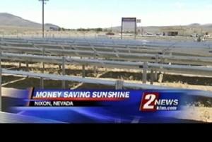 Pyramid Lake Paiute Tribe installs solar.