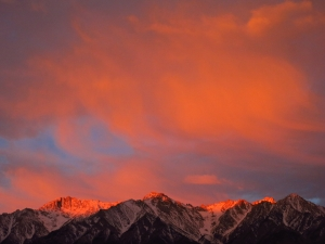 Flaming sunrise by Andrew Kirk