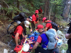 Tuolumne SAR members and Mono SAR – Mike Britton and Natali Endo