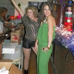 Two great-looking Disco Bartenders -Carma Roper and Rose Masters