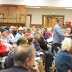 The Inyo County Board of Supervisors played to a packed house Thursday as it held a public hearing on the Adventure Trails pilot program.