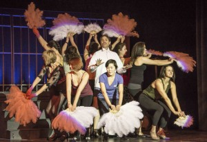 Chicago Dancers Surround Billy Flynn
