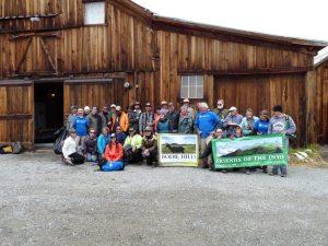Previous Bodie volunteers - photo courtesy of Nancy Frye