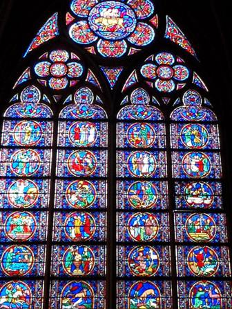 Notre-Dame okno