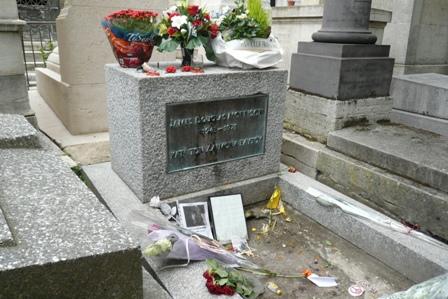 du Pere Lachaise - Morrison