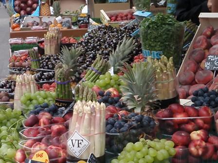 obchodik ovocie