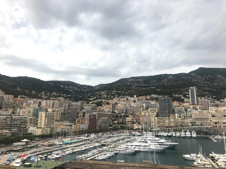 na Azúrovom pobreží Monako