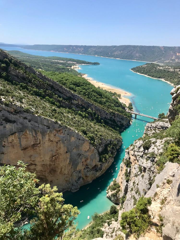 Azúrové (ne)blues Lac de Sainte Croix