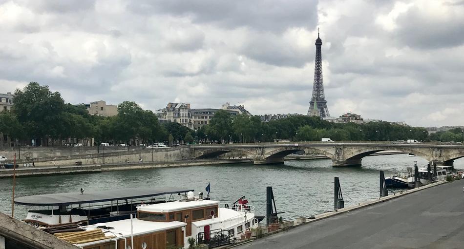 Leto v Paríži