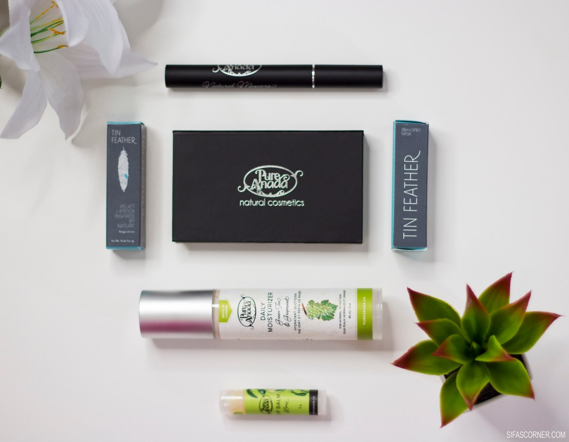 Natural Cosmetics Spotlight: Pure Anada & Tin Feather