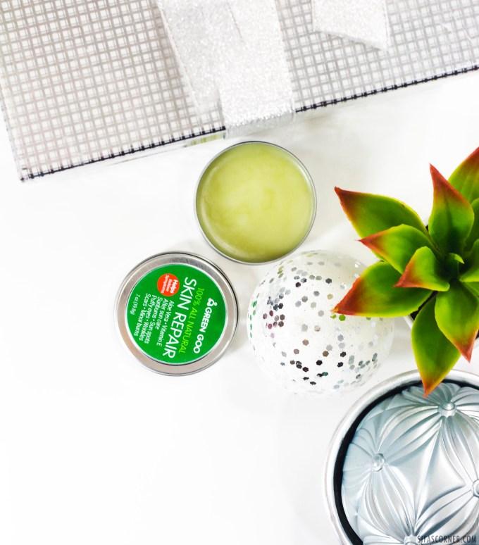 Natural Beauty Products Christmas Gift- green goo skin repair