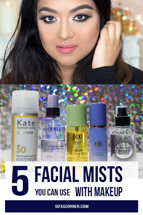Facial Mist for makeup