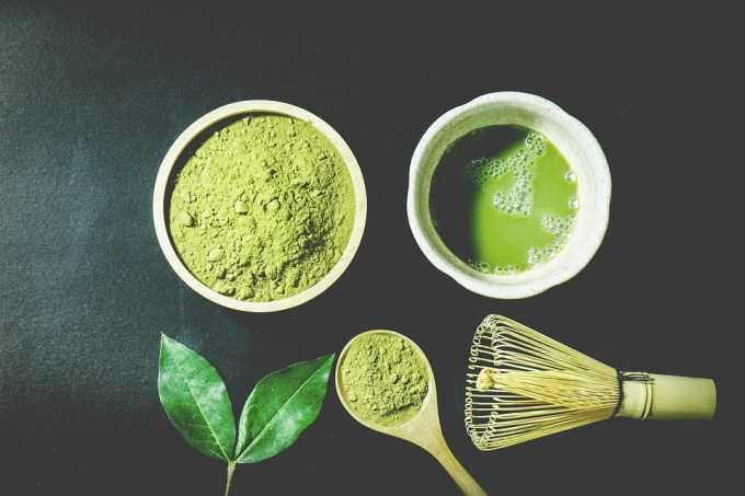 matcha as a face mask