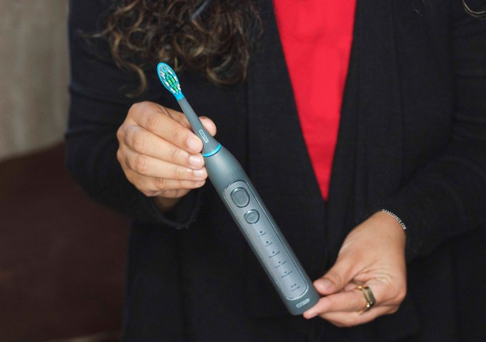 smile brilliant caripro ultrasonic electronic toothbrush review