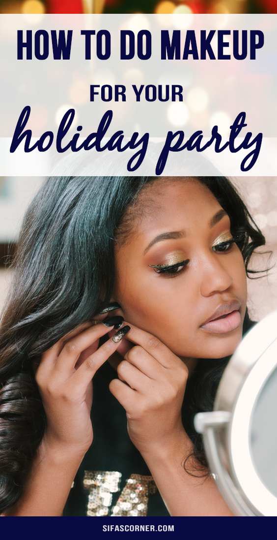 holiday party host makeup tips