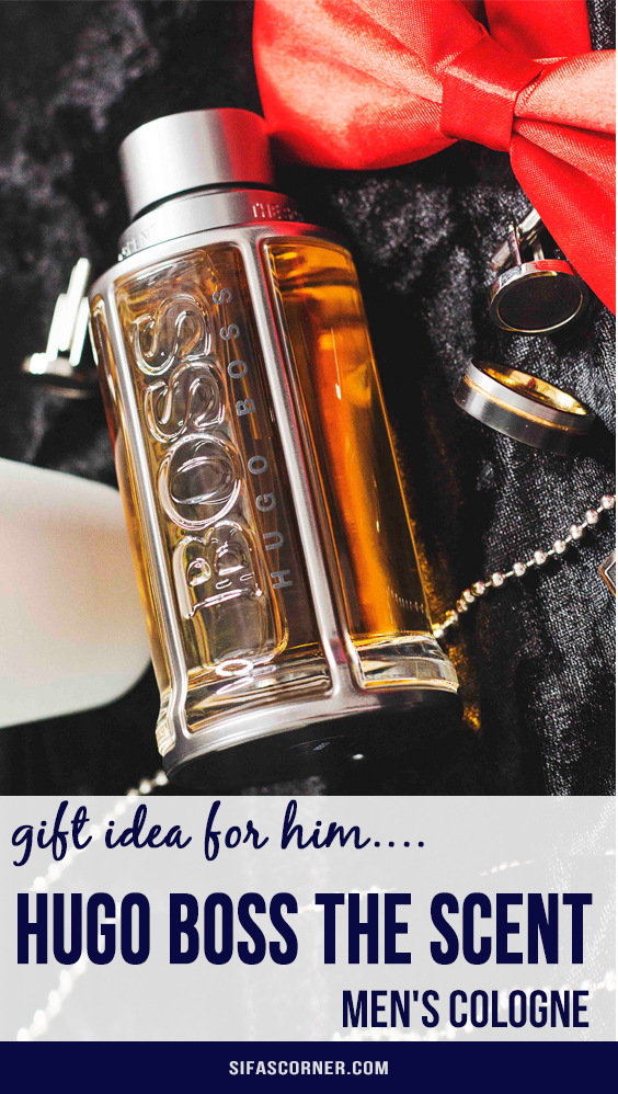 Kohls Perfume Gift Idea- hugo boss the scent-