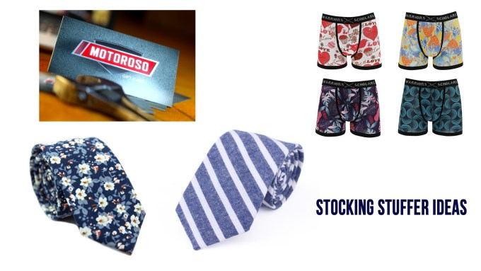 gift and stocking stuffer ideas for men