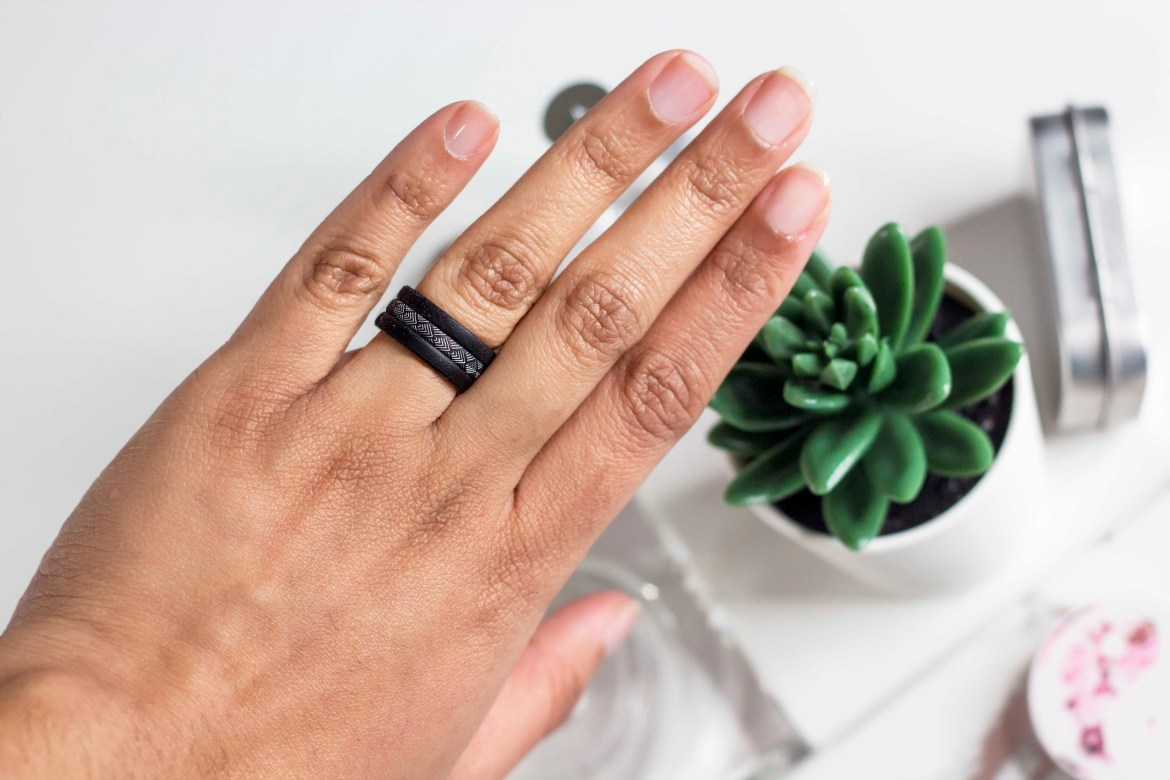 Groove Air silicone wedding ring review- Sifa's Corner