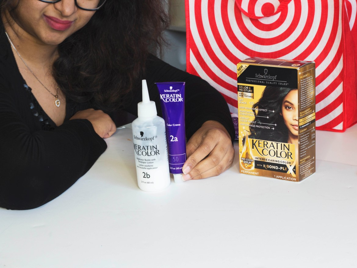 Schwarzkopf Keratin Color Moisture hair color review-Sifa's Corner