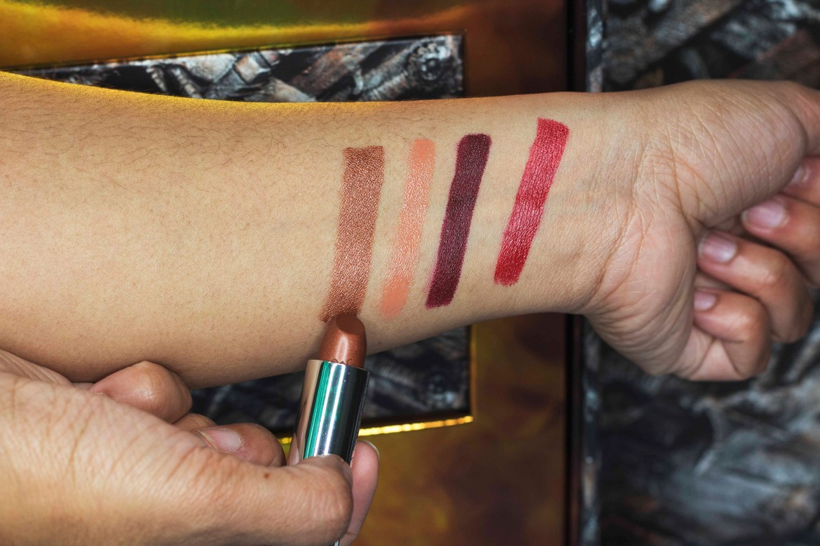 Urban Decay| UDxGOT | GAME OF THRONES COLLECTION| Lipstick swatches- Sifa's Corner