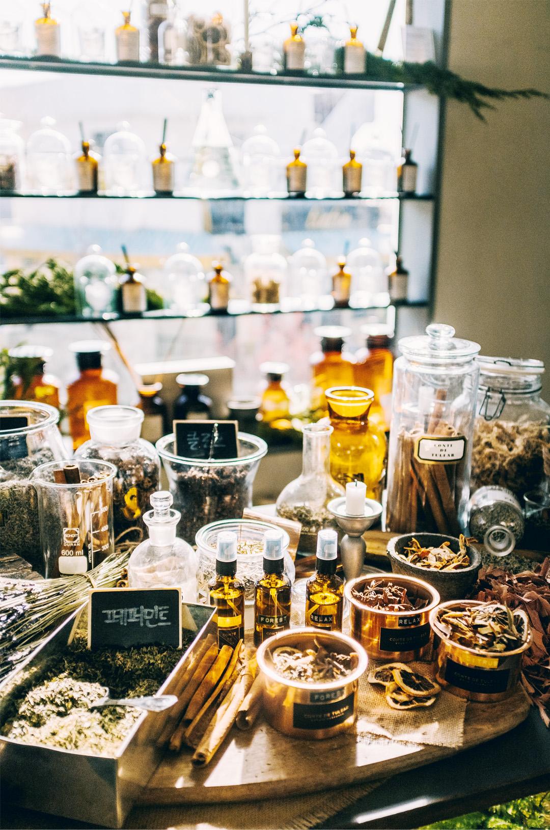 Perfume making