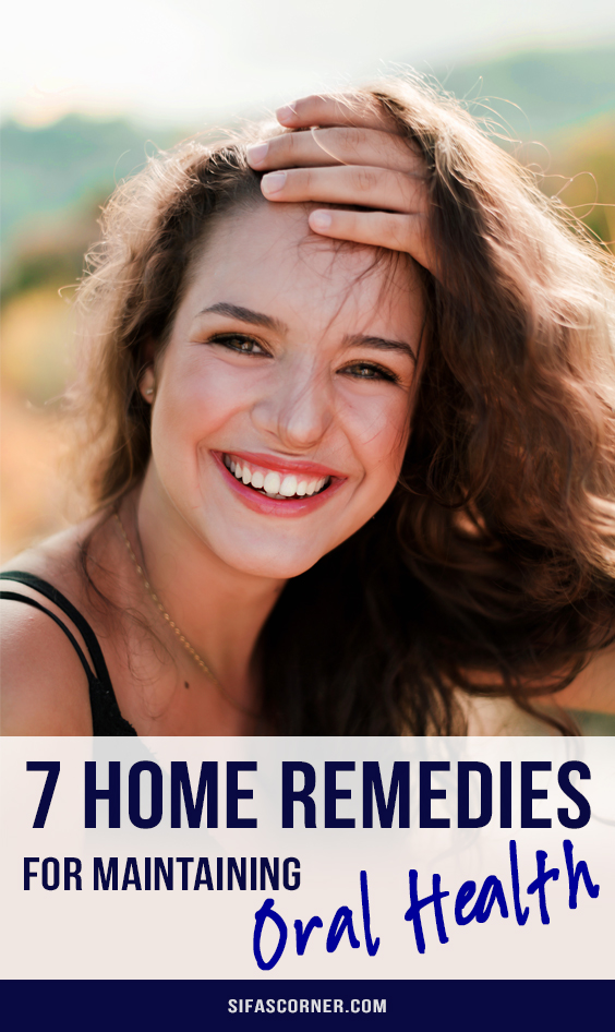 home remedies for oral health