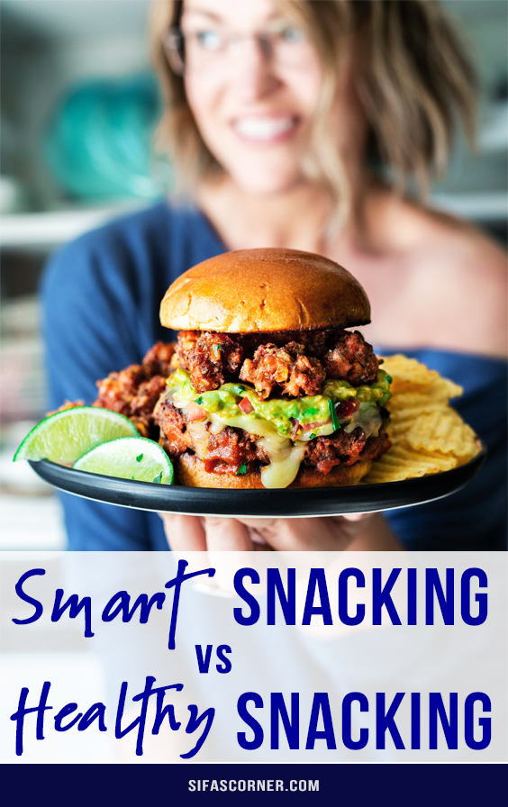 smart snacking and healthy snacking